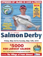 2019 Salmon derby brochure