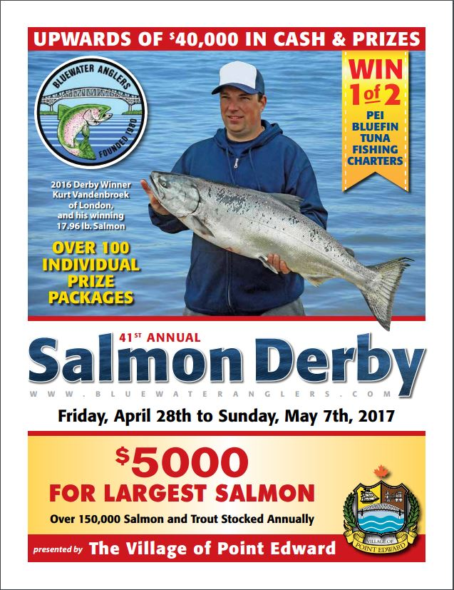 2017 Bluewater Anglers Salmon Derby Major Prizes