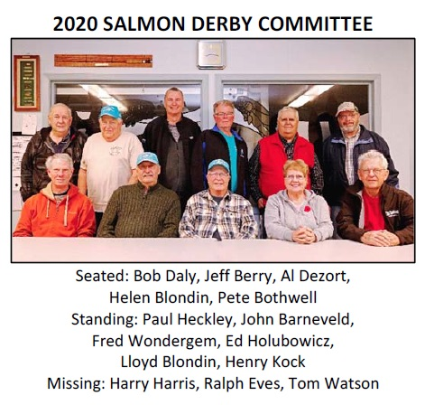 2018 Bluewater Anglers Salmon Derby Committee
