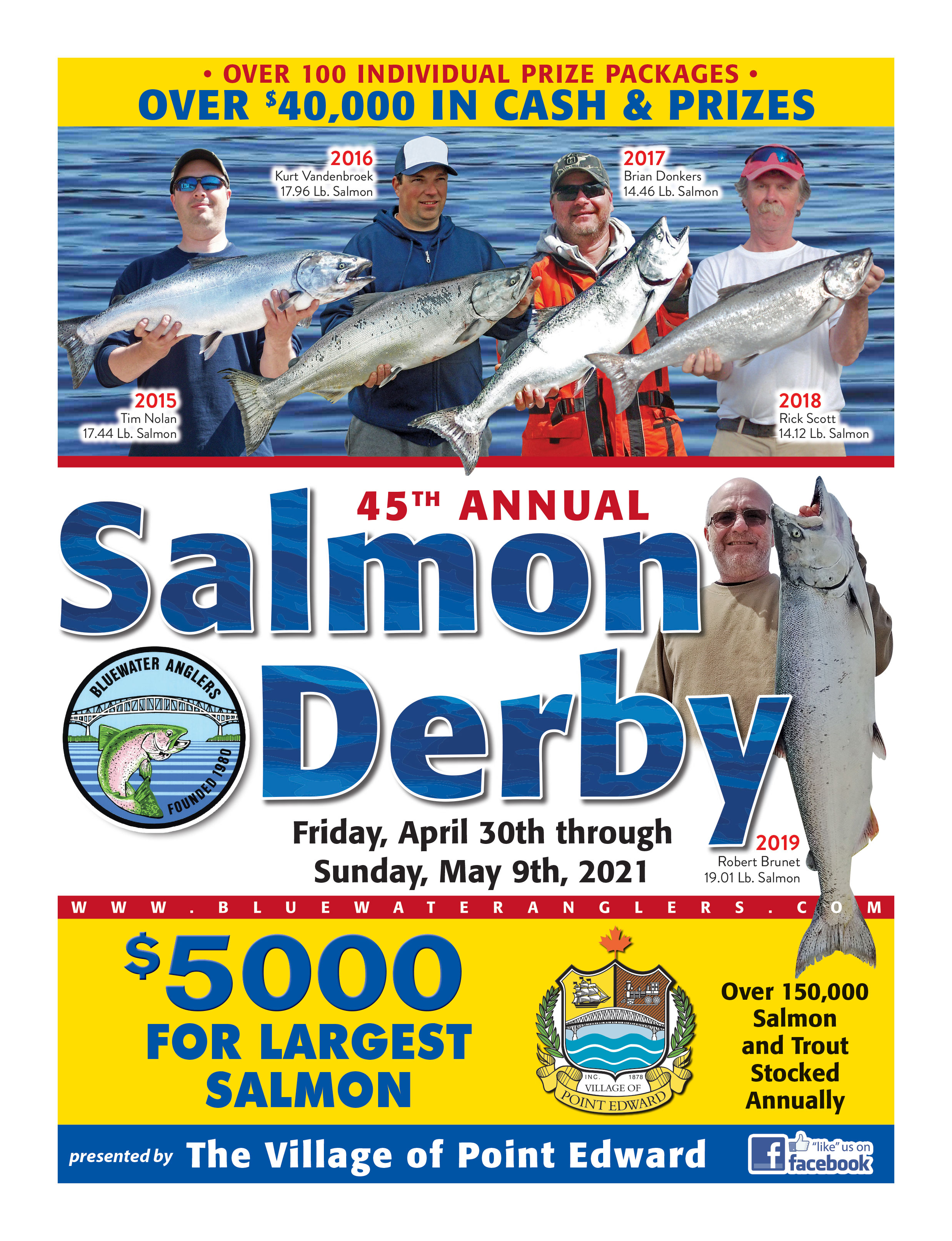 2021 Salmon derby brochure